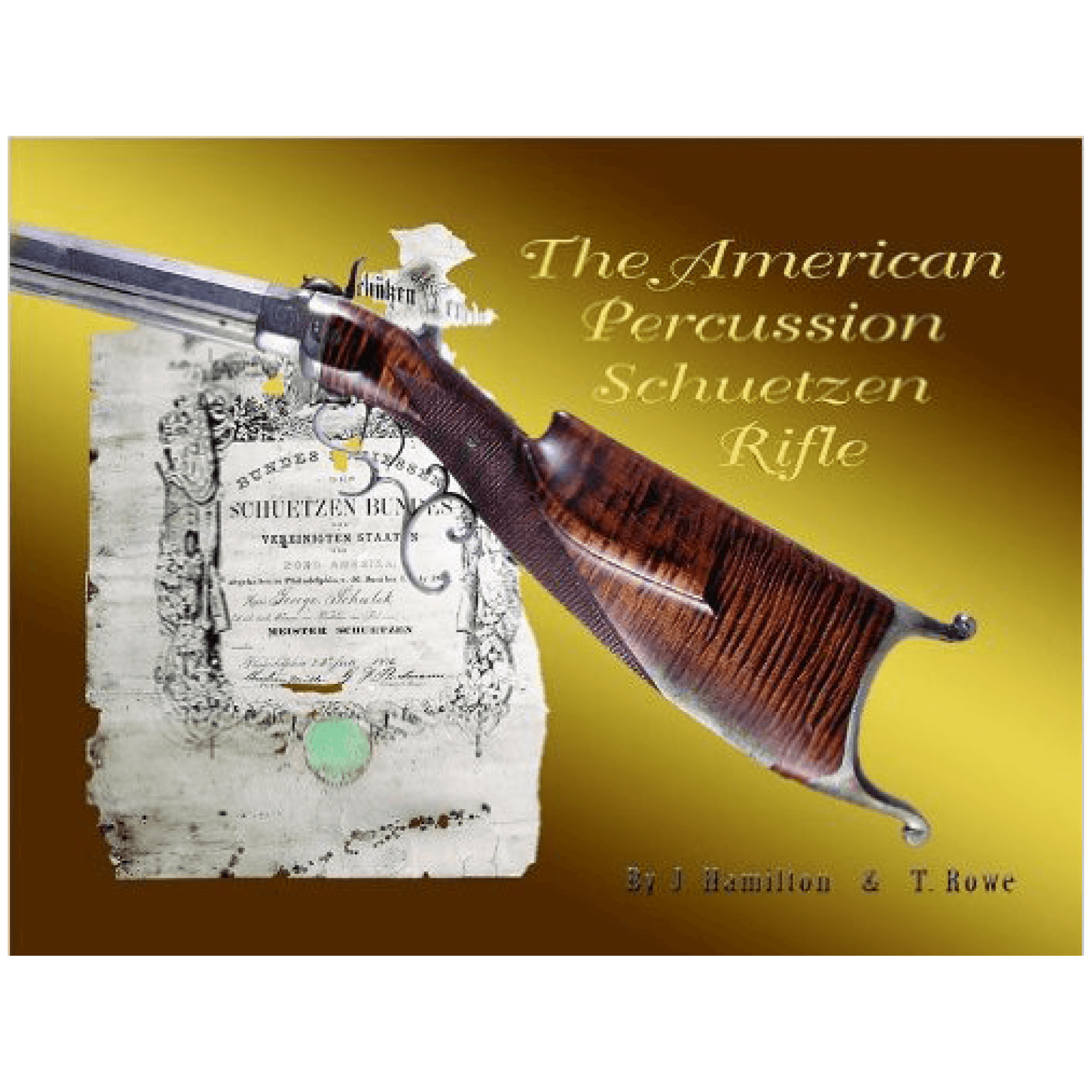 American Percussion Schuetzen Rifle By Hamilton & Rowe