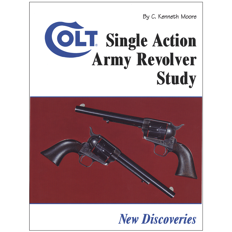 Colt Single Action Army Revolver Study By Moore