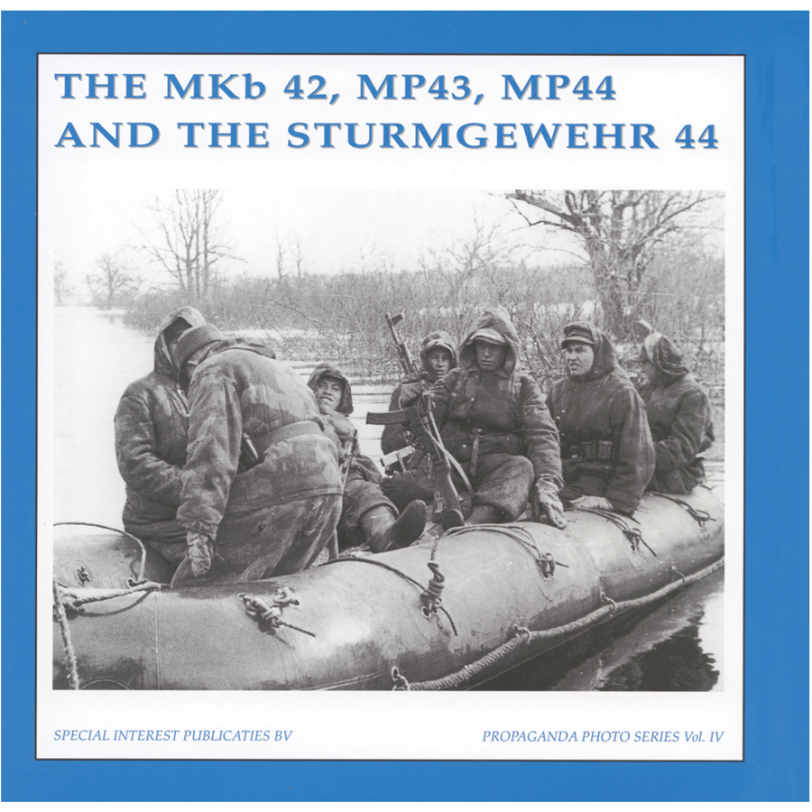 The MKb 42, MP43, MP44 And The Sturmgewehr 44